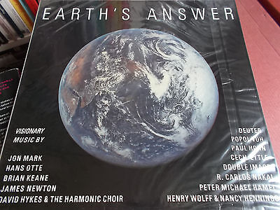 Earth's Answer: Vinyl Lp: Various Artists: Celestial Harmonies Label