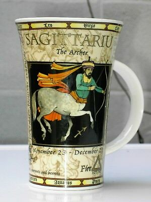 Dunoon Large Zodiac  Mug By Jack Dadd Sagittarius In Ex con Free UK Postage