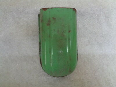 Vtg Green Cola-Coke Porcelain Enamel Glascock? Coke Cooler Bottle Cap Catcher