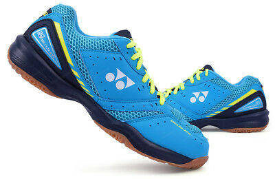 Yonex Unisex Badminton Shoes Power Cushion 30 Blue Navy Racquet Racket SHB-30EX