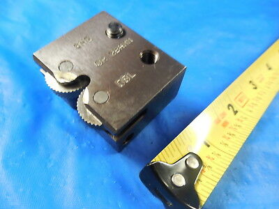 Accu Trak Knurl Tool Holder Block Knurling Wheel Roller Lathe Machine Tooling