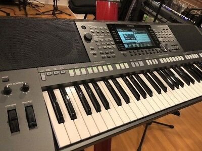 yamaha psr s970 arranger keyboard synthesizer with built. Black Bedroom Furniture Sets. Home Design Ideas