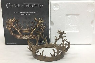 Game Of Thrones Renly Baratheon Crown Mini Replica Chipped Tips See Photos
