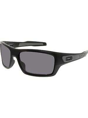 Oakley Women's Turbine OO9263-01 Black Rectangle Sunglasses