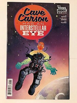 Cave Carson #1 Has an Intersellar Eye DC Young Animal Comic 1st Print 2018 NM