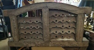 Antique Salvaged Window Early 1800's or late 1700's