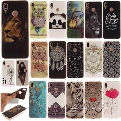 For Huawei soft tpu phone case Gel OWL printed patterned cover Dandelion slim