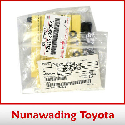 Genuine Toyota Hilux Bonnet Protector Fitting Kit Only 2/05-10/11