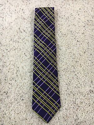 plain royal blue knitted tie with cable knit design by Frederick Thomas FT3293