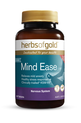 Herbs of Gold Anxiety Ease 60 tabs