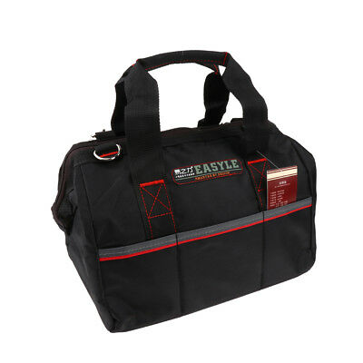14 Inch Electrician Tool Bag Adjustable Belt and Larger Rubber Feet