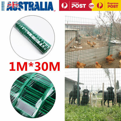 30-90M Roll Welded Wire Mesh Animal Fence Graden Pet Chicken Coop Aviary Fencing