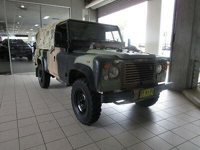 Landrover 110 Perentie Troop Carrier Manual 4WD 02 9479 9555 Easy Finance TAP