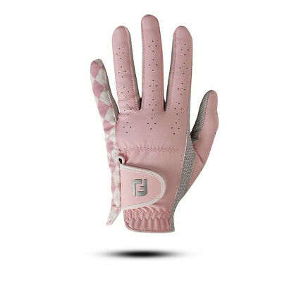 Foojoy ATTITUDES Golfhandschuh-Rosa-Kombinationen-ML-Linkshand