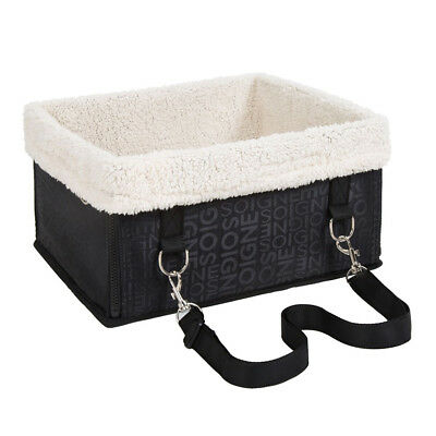 Pet Dog Car Carrier Box Case Booster Seat Kennel with Seat Leash Puppy Cat