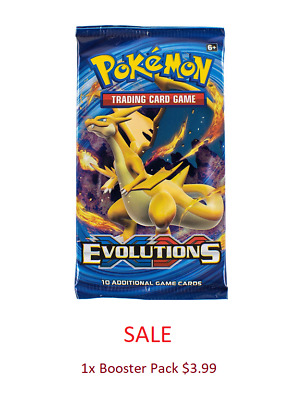 Pokemon Evolutions Booster Pack SALE/SPECIAL TCG Trading Card Game