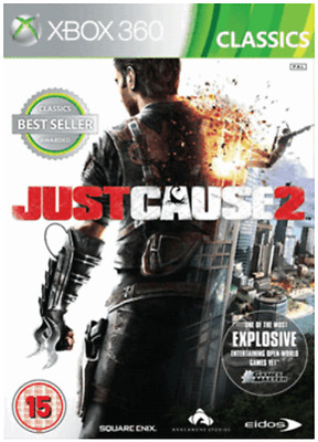Xbox 360 - Just Cause 2 **New & Sealed** Official UK Stock - Xbox One Compatible