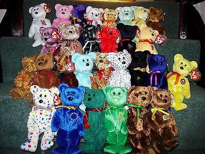 TY BEANIE BABY BEARS part 3 - R to W - EUR 4 6457576c276
