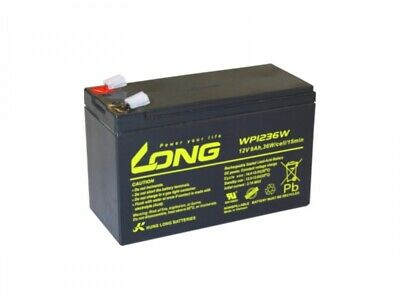 Akku kompatibel PX12090 High Rate Type AGM Blei Battery 12V 36W wie 8Ah Notstrom