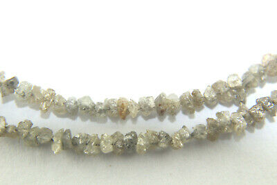 4.00 Ct Natural Drilled Champagne Brown Rough Uncut Diamond Beads Lot 2.00-3.00
