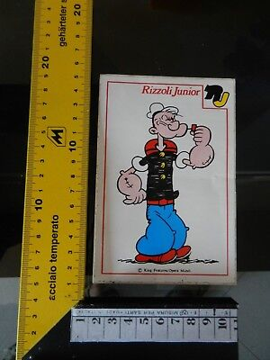 Adesivo Braccio di Ferro Popeye Comics cartoon sticker