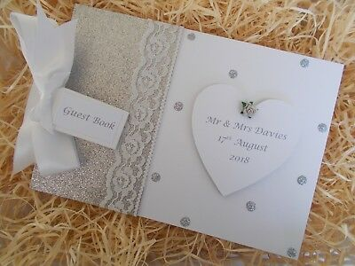 Personalised Wedding Guest Book Scrapbook Memory Photo Album Gift Multi Use