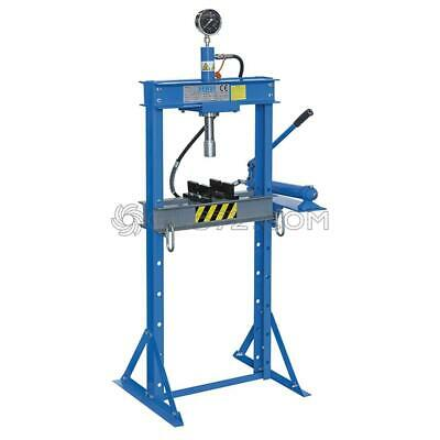 Hydraulic Workshop Garage Shop Floor Press Heavy Duty 12 Ton Fervi P001/12