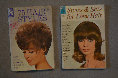 Vintage Dell Purse Book 75 Hair Styles 1967 Small Pocket Sized Retro VTG 60s