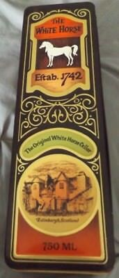 White Horse Scotch Tin