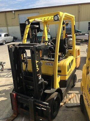 2011 Hyster S40FT Forklift 4000 Capacity Propane Truckers Lift