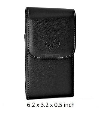 For Samsung Galaxy S9+ PLUS Vertical Leather Pouch Cover Belt Clip Holster
