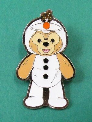 Disney Pin HKDL - Duffy Bear Costume Collection - Duffy as Olaf from Frozen
