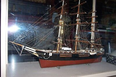 Vintage Model, 1852 SOVEREIGN OF THE SEAS/BOSTON Sailing Ship,(Shown in Museums)
