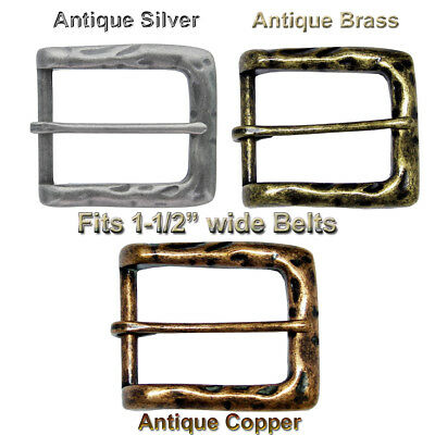 "Heel Bar Vintage Style Replacement Belt Buckle fits 1-1/2"" = 38 mm CX-05 Buckle"