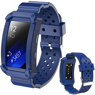 Blue Band For Samsung Gear Fit 2 Pro SM-R365/ Gear Fit 2 SM-R360 Smartwatch
