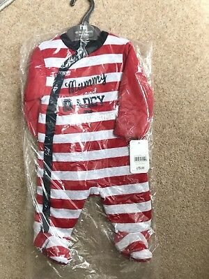 Mothercare Wadded Sleepsuit BNWT Up To 1month Boy/girl Unisex