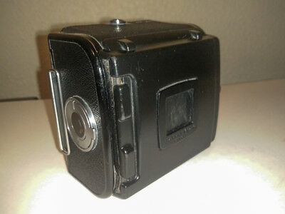 Hasselblad A12 film back in black, later type with darkslide holder