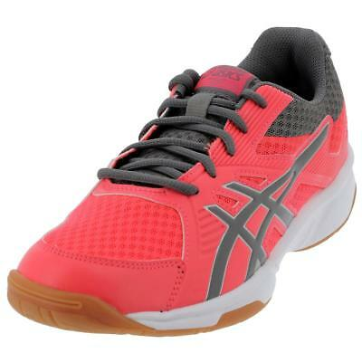 7489321ea3063 Chaussures volley ball Asics Upcourt 3 rse indoor jr Rose 11137 - Neuf