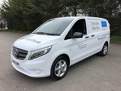2018 Mercedes-Benz Vito 114 Van Compact Diesel white Manual