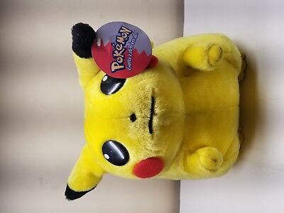 1999 Large Jumbo Pokemon PIKACHU Plush Stuffed Toy Doll Nintendo Play By Play