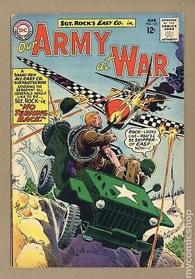 Our Army at War #140 1964 VG 4.0