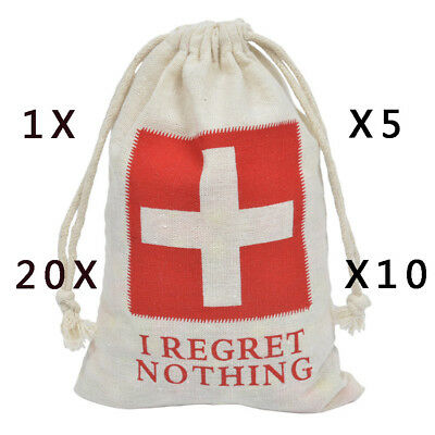 Funny Hangover Kit Cotton Bags Wedding Favors Gifts Bag Guests Party Decor