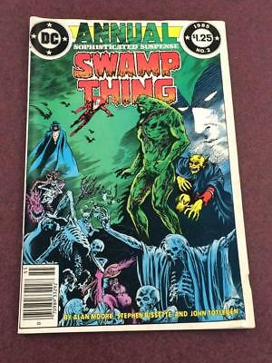 Swamp Thing Annual #2 VG+ 1st app Justice League Dark Alan Moore 1985