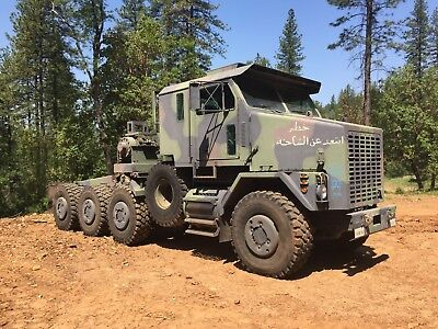 2000 Oshkosh M1070 8X8 Military Heavy Haul Truck 3500 Miles