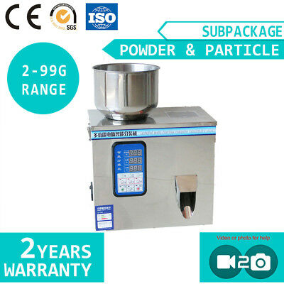 Tea Powder Particle Automatic Subpackage Device Weighing Filling Machine