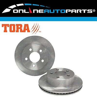 2 Front Disc Brake Rotors Jeep Cherokee XJ 99-01 New Classic Limited Sport