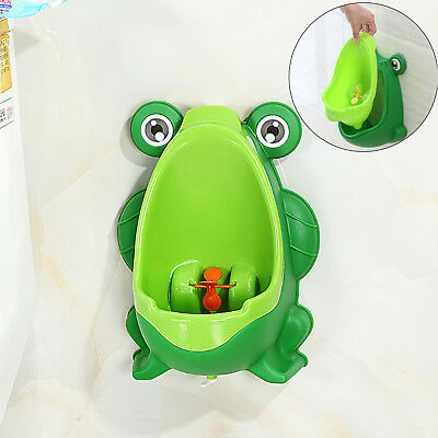 Frog Kids Potty Toilet Training Kids Urinal Baby Boys Pee Trainer Bathroom