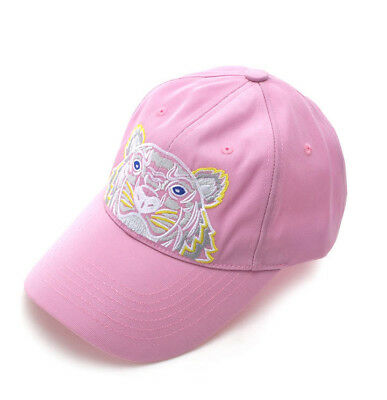 dc006466 KENZO Tiger Cap Womens Mens Light Pink Hat 5AC301 F20 32 Adjustable Outdoor  Auth