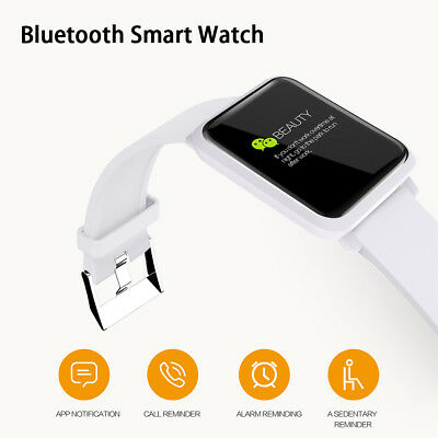 Waterproof Bluetooth Smart Watch Colour Screen for Apple iPhone & Android Phones