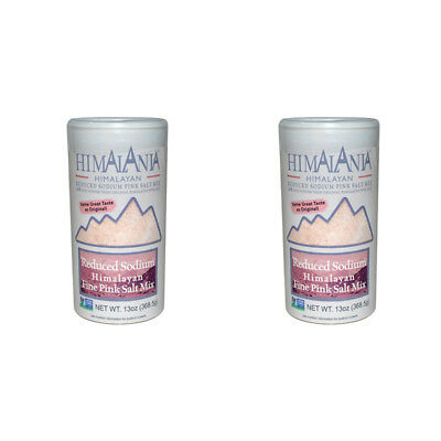 2X Himalania Reduced Sodium Pink Salt Cooking Spices & Seasoning Daily Healthy